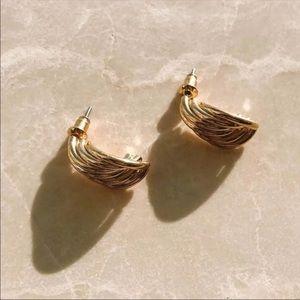 Jewelry - 18k Gold Plated Mia Earrings